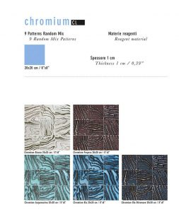 UNICA Chromium Collection pattern 1