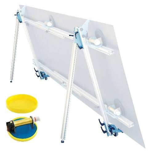Kera Lift Carriage Kit - for easily rolling the 1A2 Kera Lift support - Comes with 2 wheels, and 2 leg supports